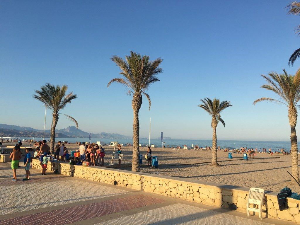 Hiszpania Alicante plaża San Juan