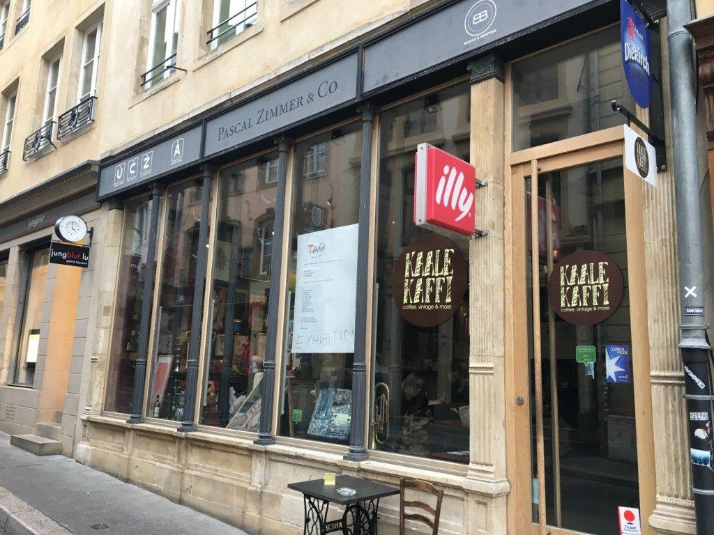 Luksemburg ArtCoffee - Kaale Kaffi