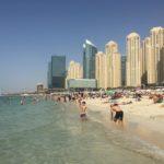 Plaże w Dubaju: Jumeirah przy Burj Al Arab i JBR Dubai Marina