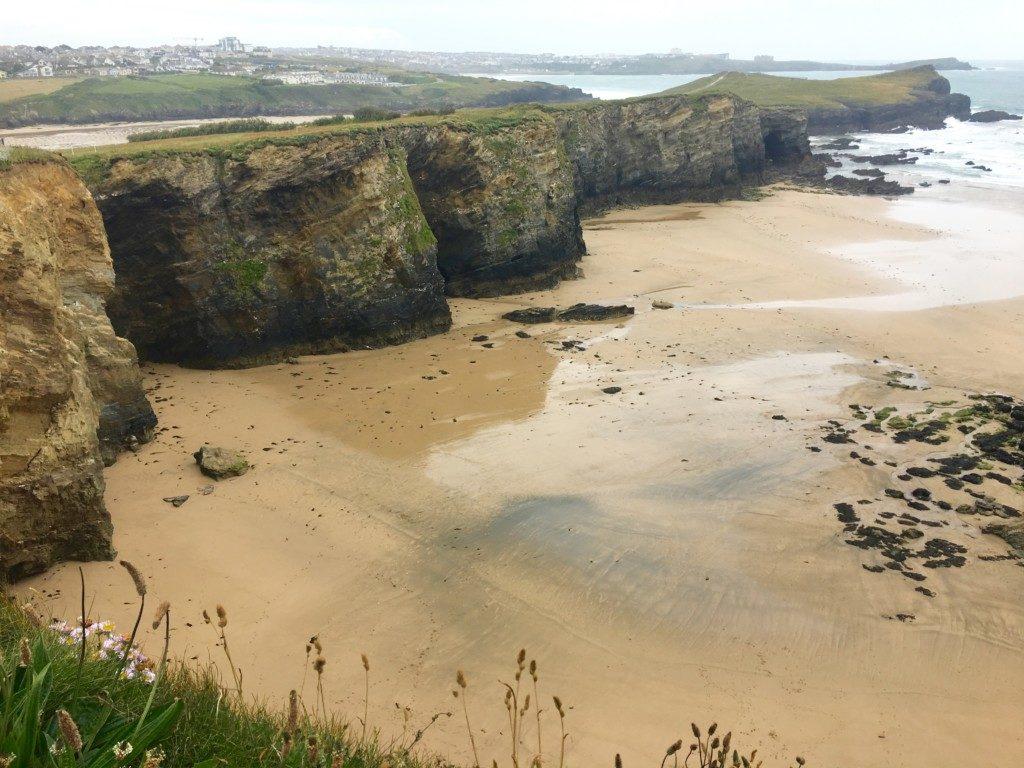 Kornwalia plaże Newquay Wielka Brytania