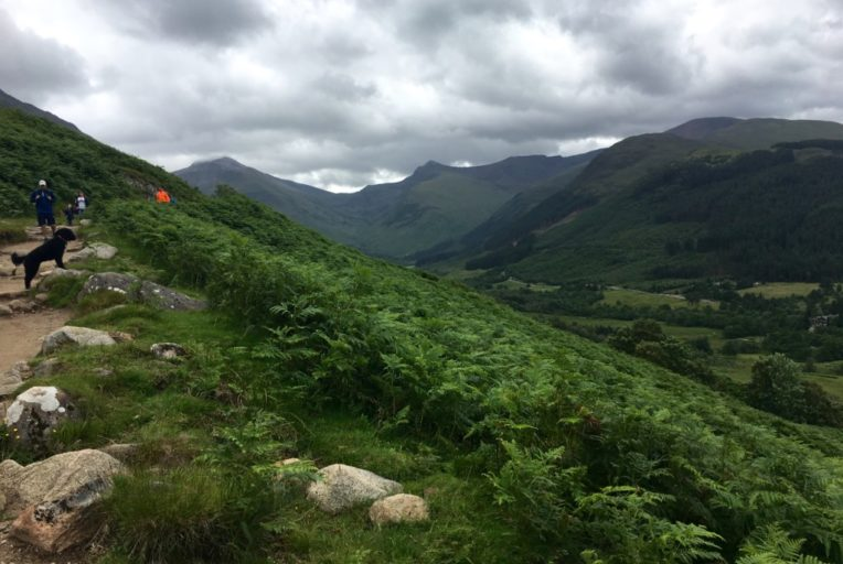 Szkocja Highlands - Fort William - Ben Nevis