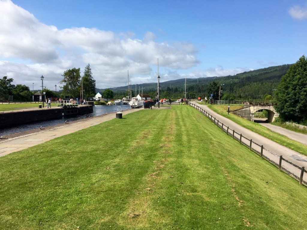 Szkocja Highlands - Fort Augustus