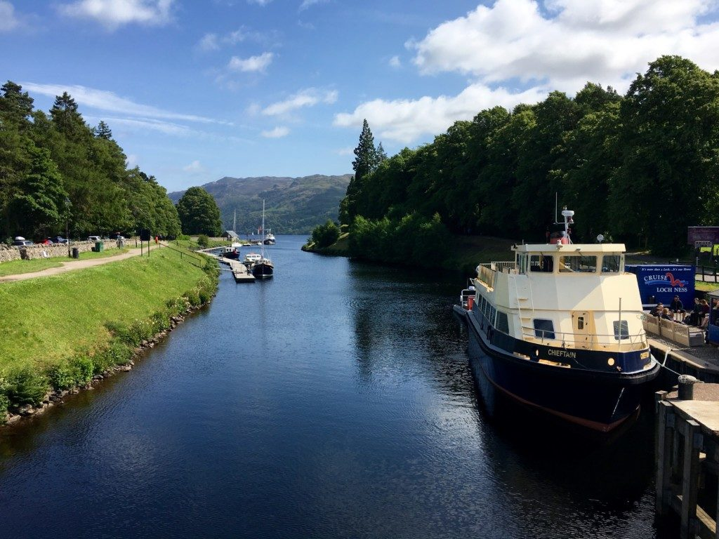 Szkocja Highlands - Fort Augustus - Loch Ness