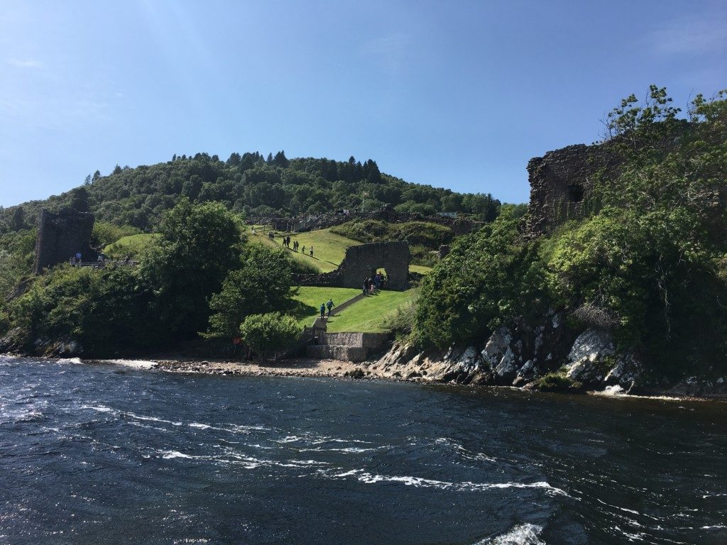 Szkocja Highlands - Fort Augustus - Loch Ness - Urquhart Castle