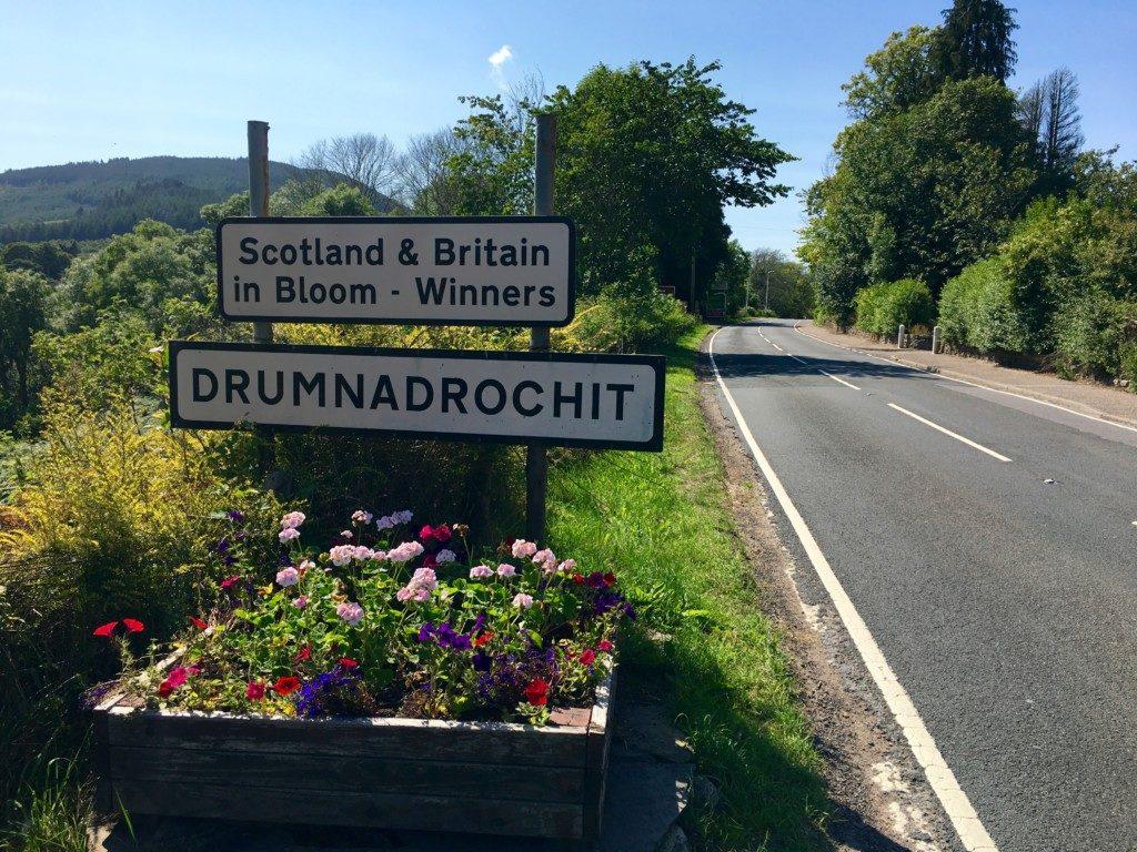 Szkocja Highlands - Fort Augustus - Drumnadrochit