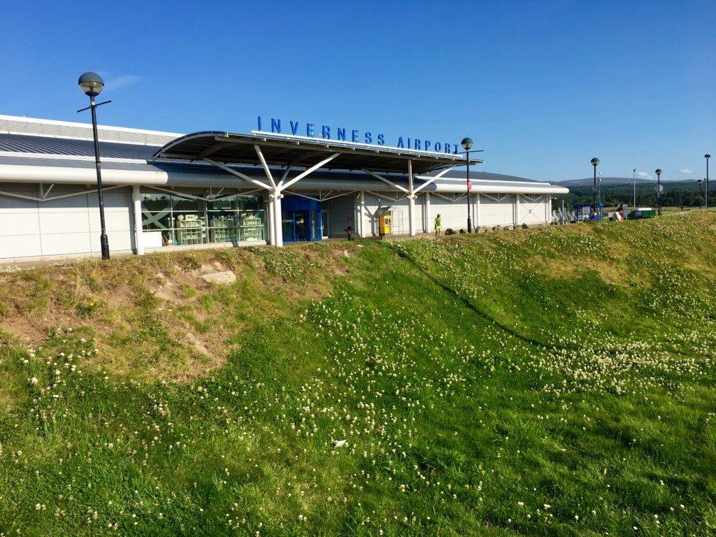 Szkocja Highlands - lotnisko Inverness
