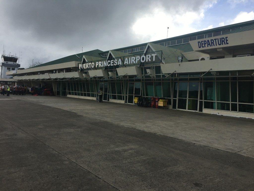 Filipiny Palawan: Lotnisko w Puerto Princessa