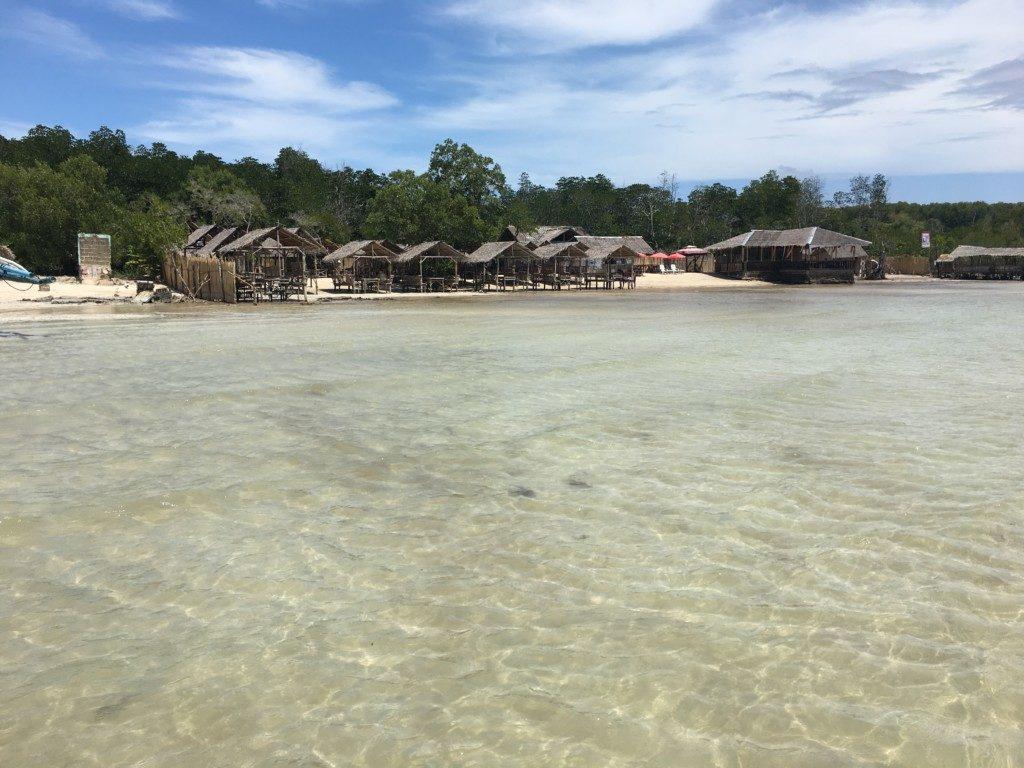 Filipiny Palawan: Plaża w Puerto Princessa