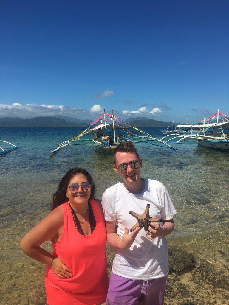 Filipiny Palawan: island hopping Honda Bay