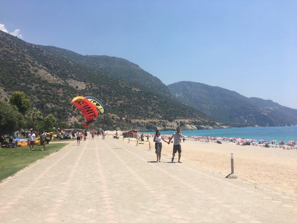 Turcja Oludeniz plaża