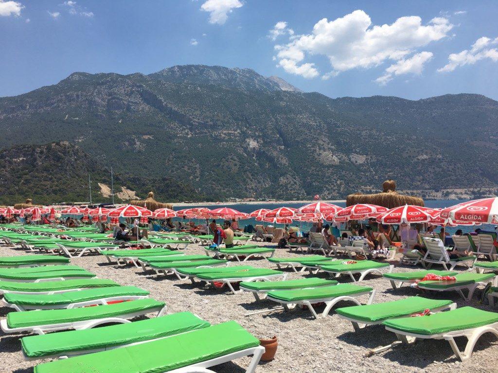 Turcja Oludeniz plaża Błękitna Laguna