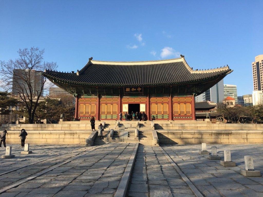Korea Południowa Seul: PałacDeoksugung