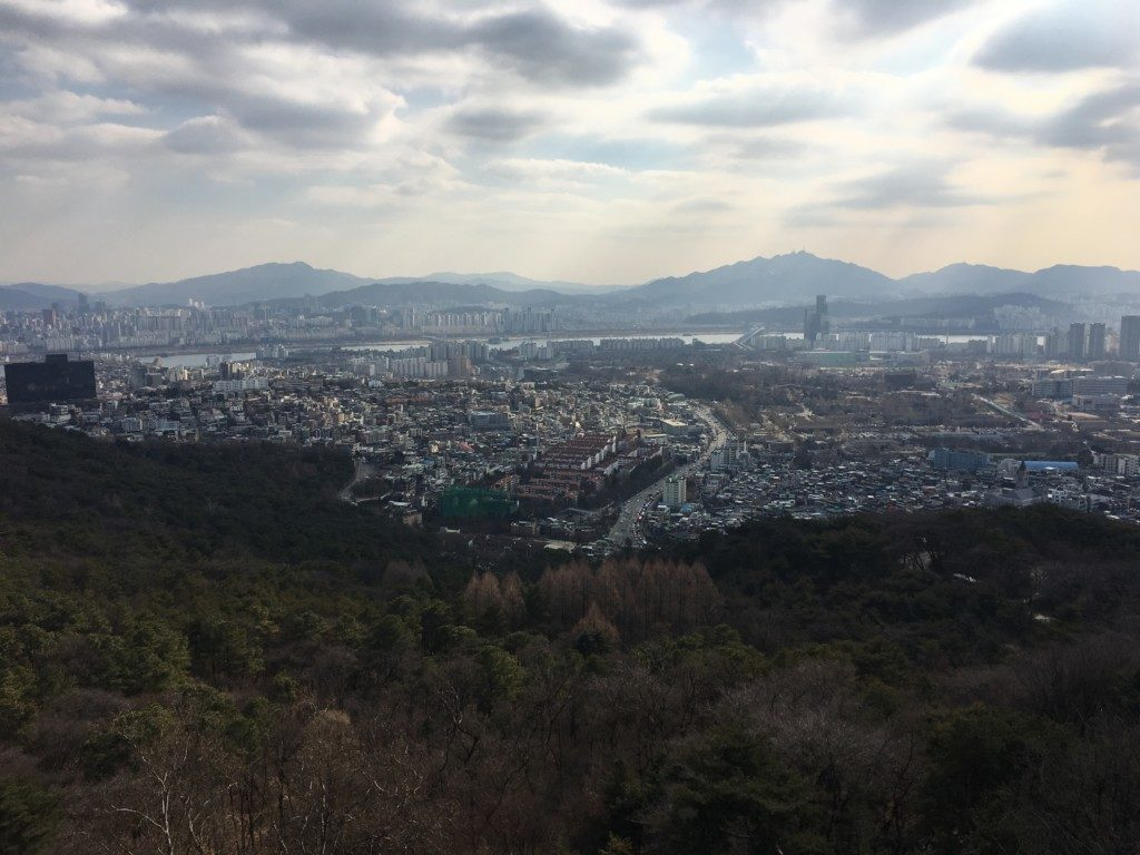 Korea Południowa Seul: Namsan Park