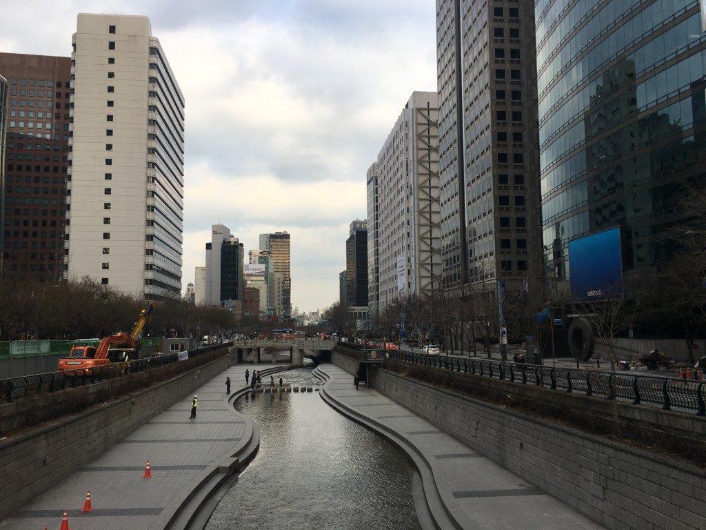 Korea Południowa Seul: Cheongyecheon