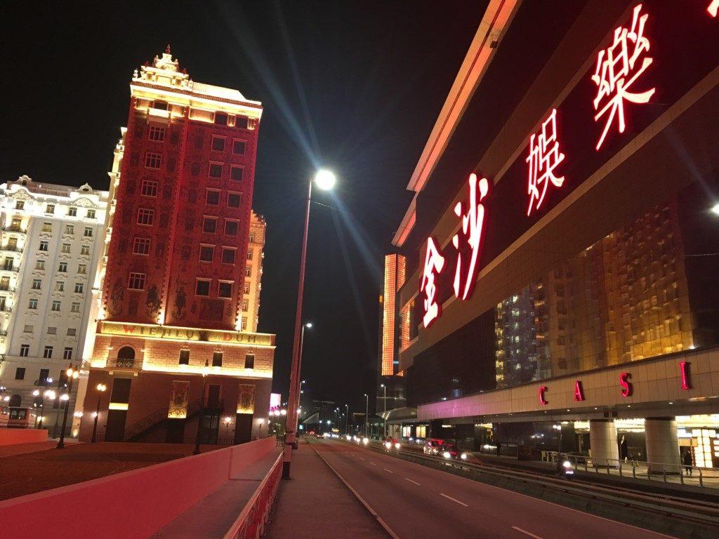 Makau - chińskie Las Vegas