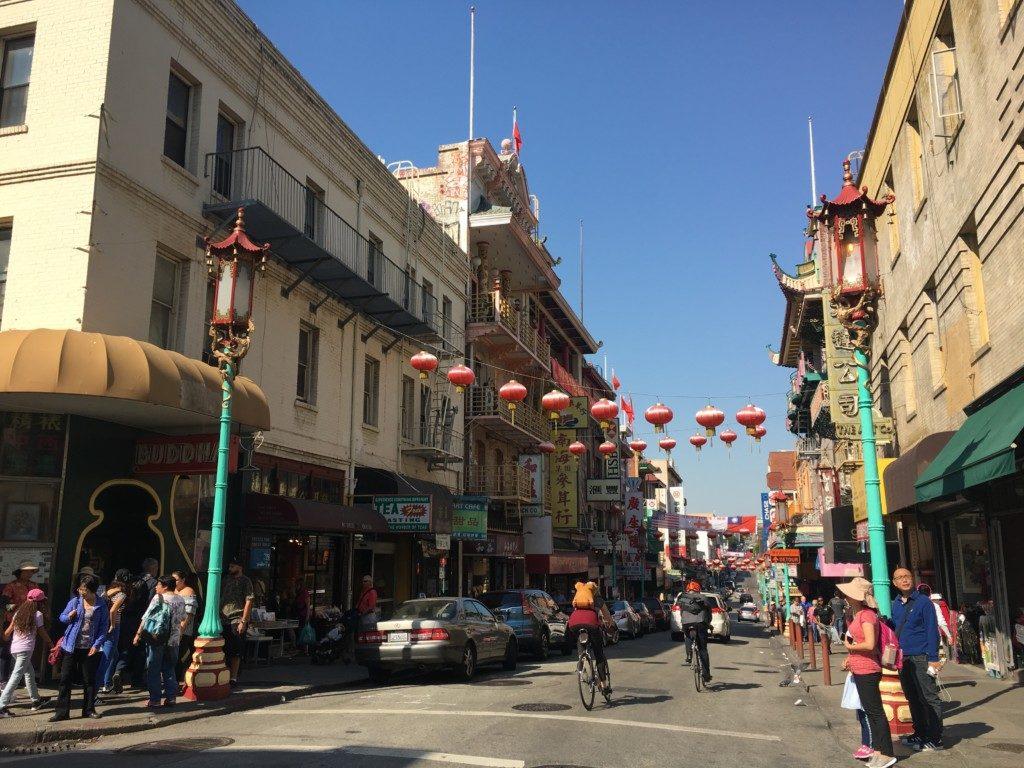 USA San Francisco China Town.