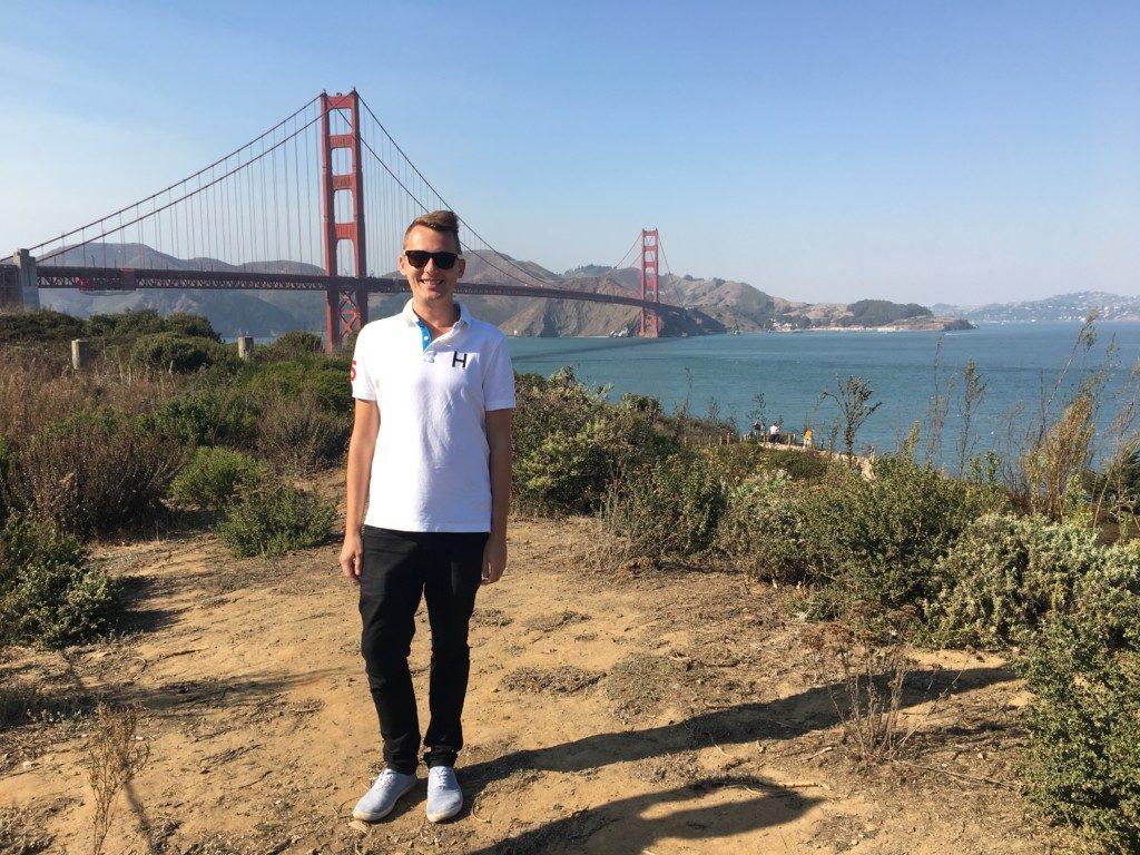 USA San Francisco Golden Bridge