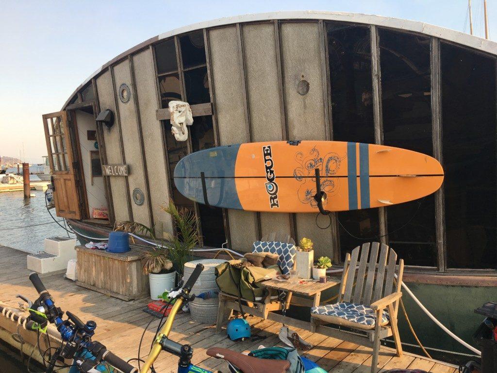 Kalifornia Sausalito Issaquach Dock