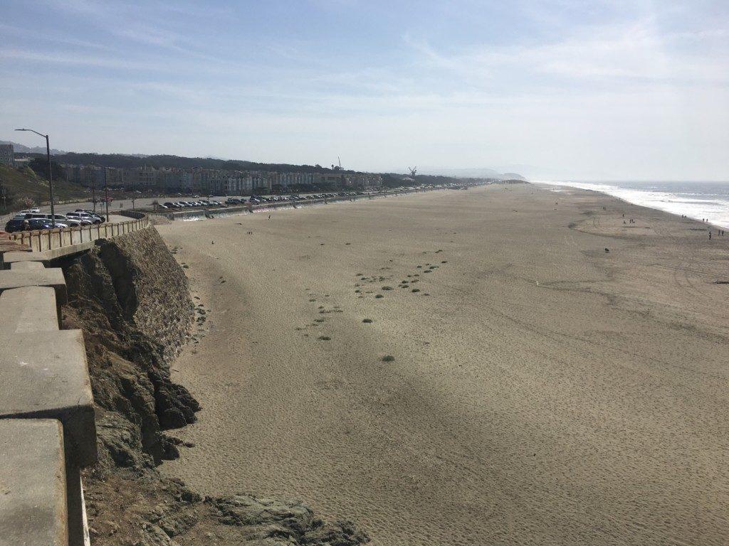 USA San Francisco plaża Ocean Beach