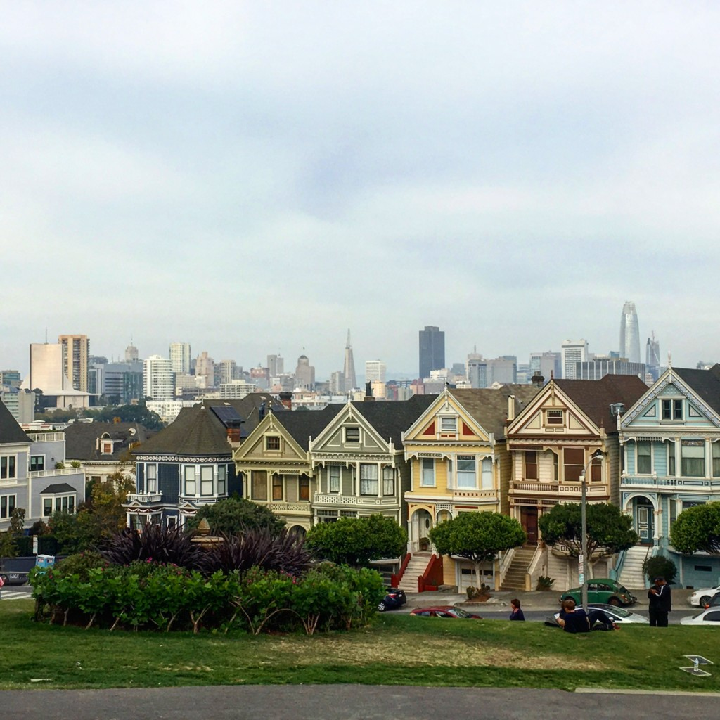 USA San Francisco Painted Ladies