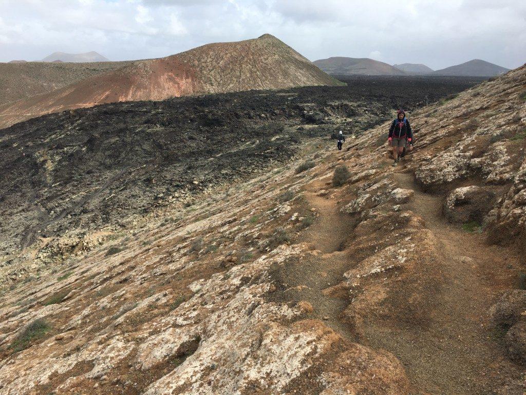 Lanzarote wulkan Montana Caldereta