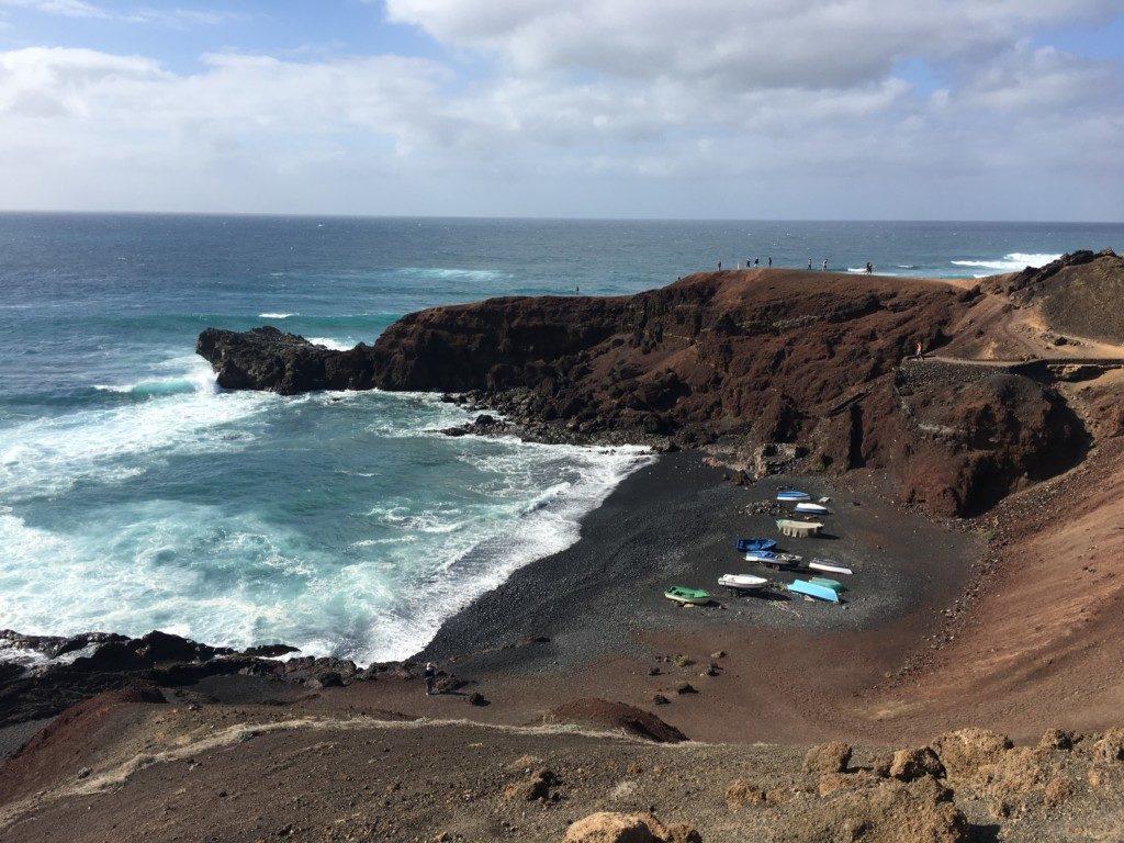 Lanzarote El Golfo Wyspy Kanaryjskie