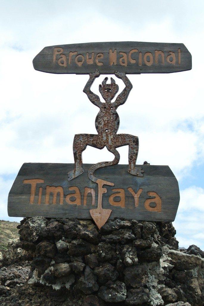 Lanzarote Park Narodowy Timanfaya