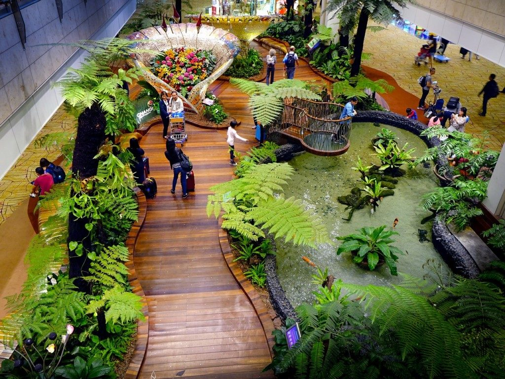 Singapur - lotnisko Changi atrakcje