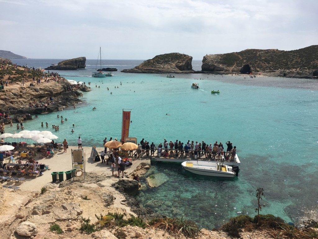Malta Błękitna Laguna Comino