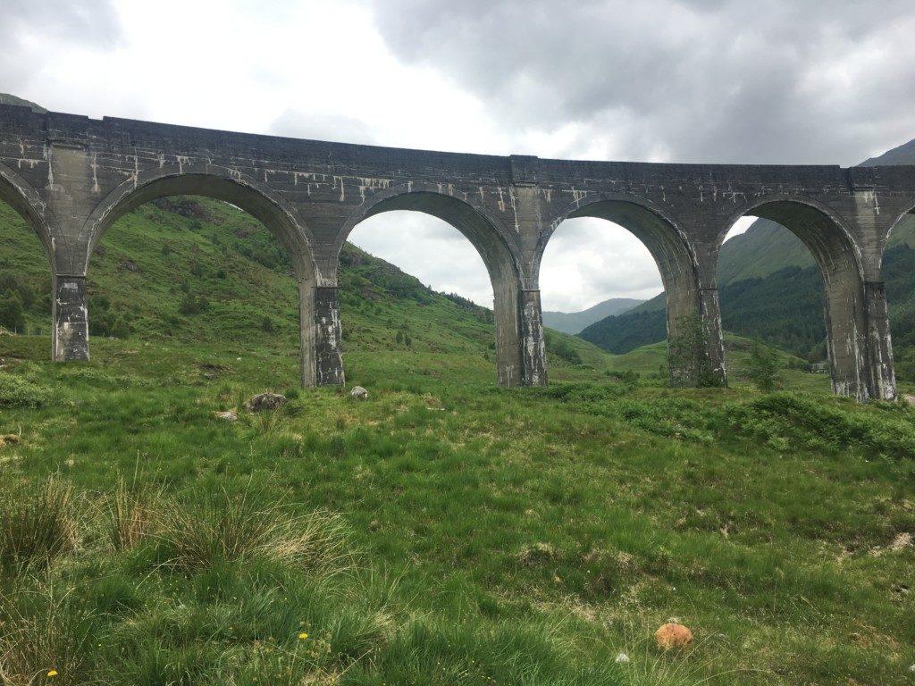 Szkocja Highlands Wiadukt Glenfinnan