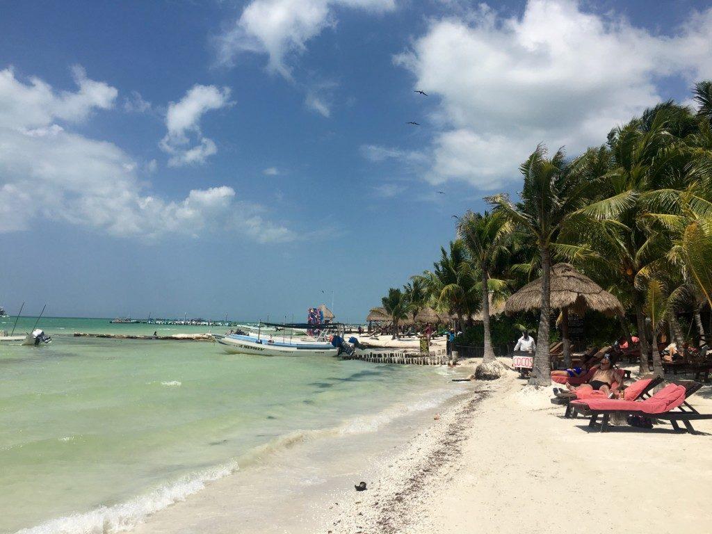 Meksyk Wyspa Holbox plaża