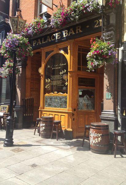 Najlepsze puby Dublin The Palace Bar