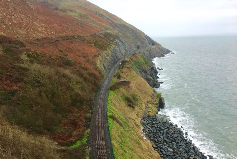 Irlandia z Dublina do Bray cliff walk