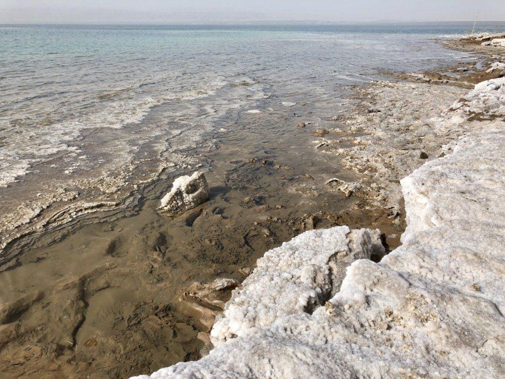 Jordania Morze Martwe sól