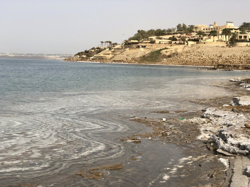 Jordania Morze Martwe plaże