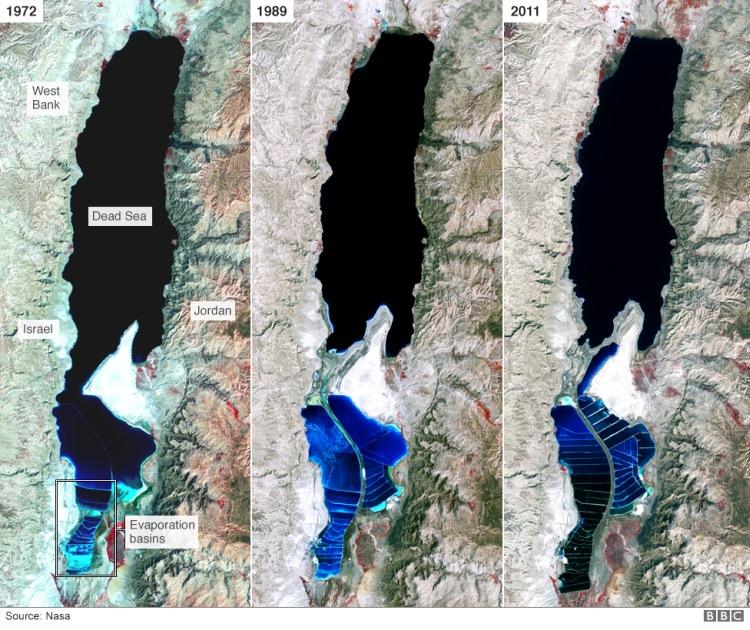 Morze Martwe wysycha
