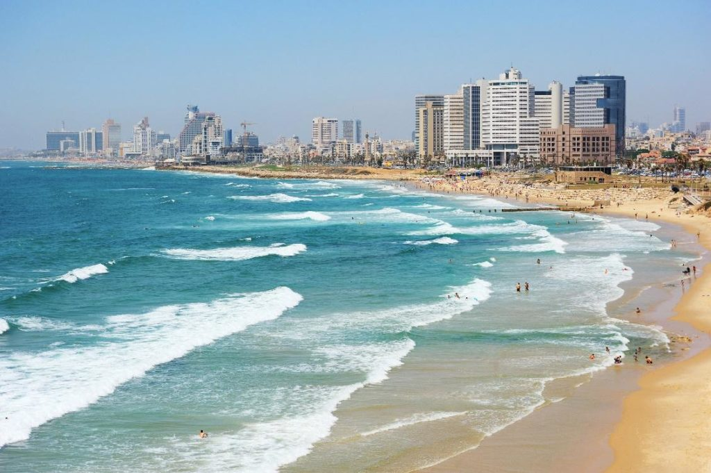 Tel Awiw plaże