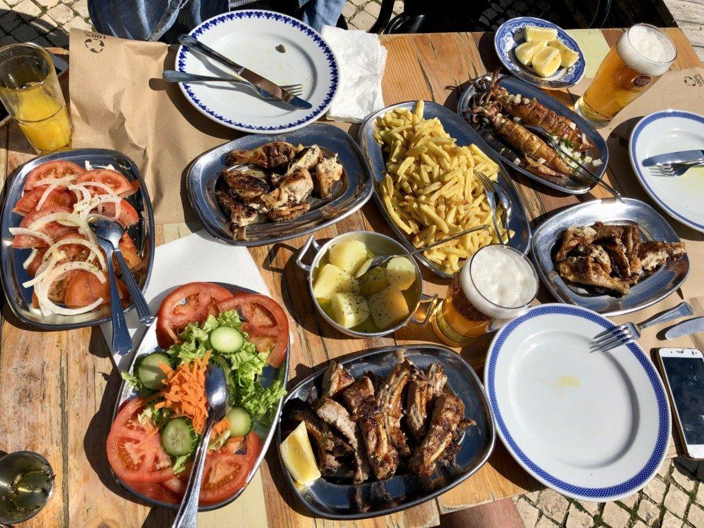 Portugalia jedzenie