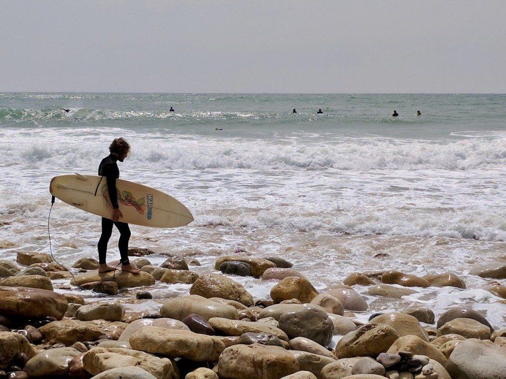 Portugalia Sagres surfing