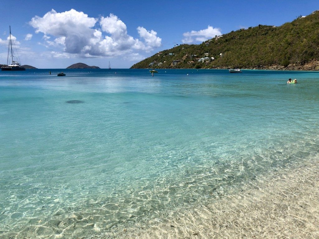 Wyspy Dziewicze USA - St. Thomas plaża Magens Bay