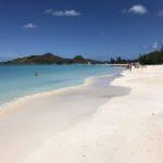 Karaiby: Antigua i Barbuda, rajska plaża Jolly Beach.
