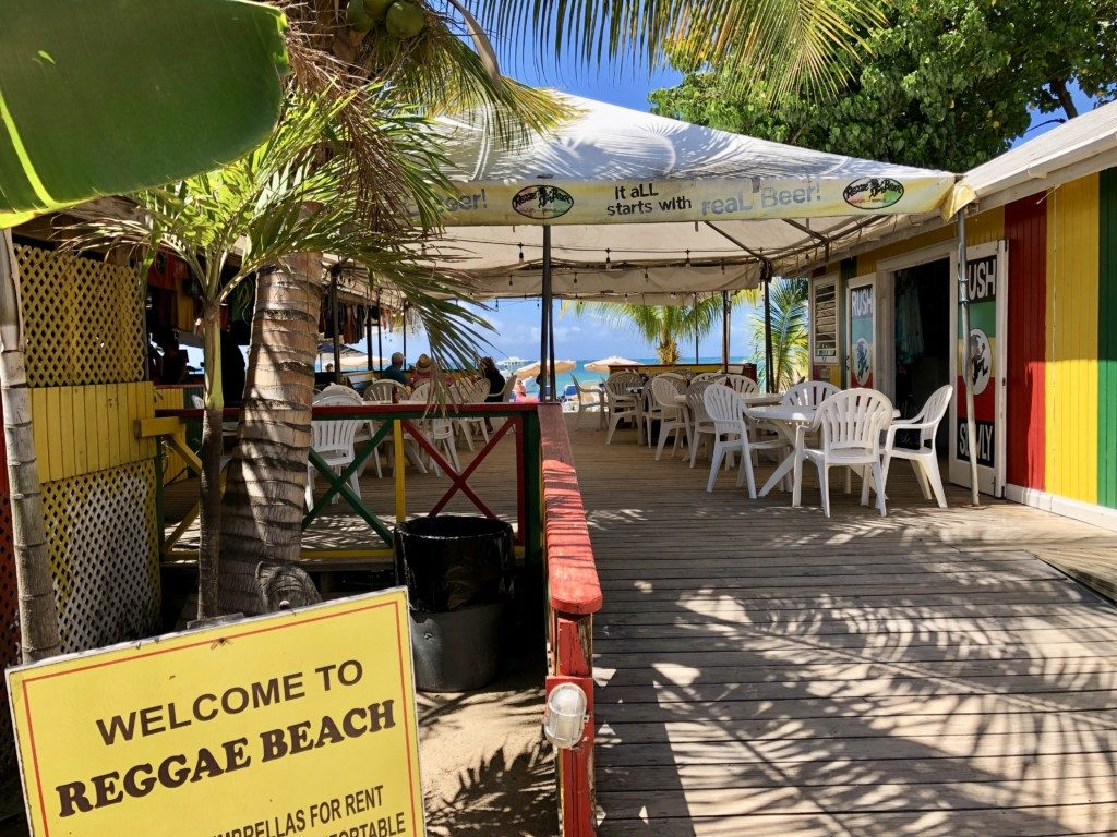 Saint Kitts i Nevis Reggae Beach