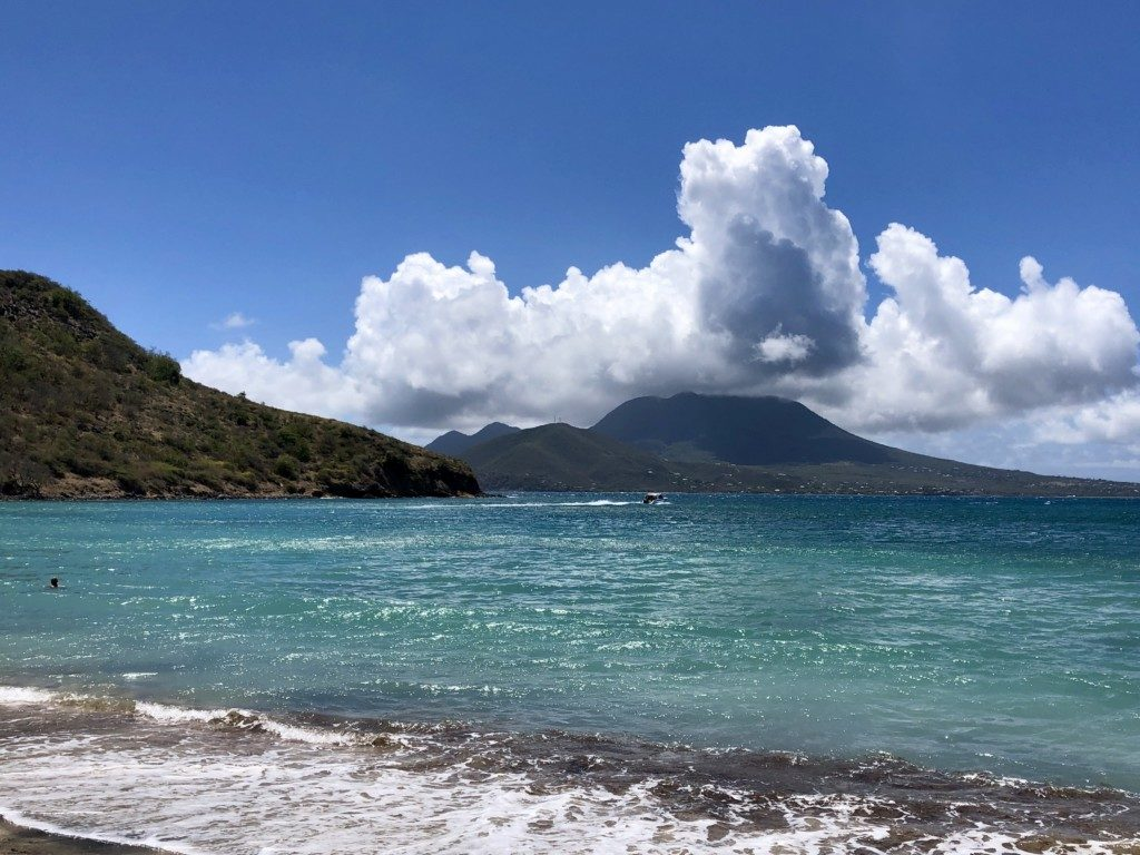 Saint Kitts i Nevis plaża Cockleshell
