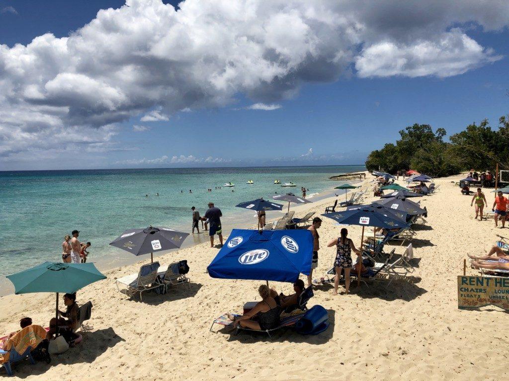 Saint Croix Wyspy Dziewicze USA Rainbow Beach