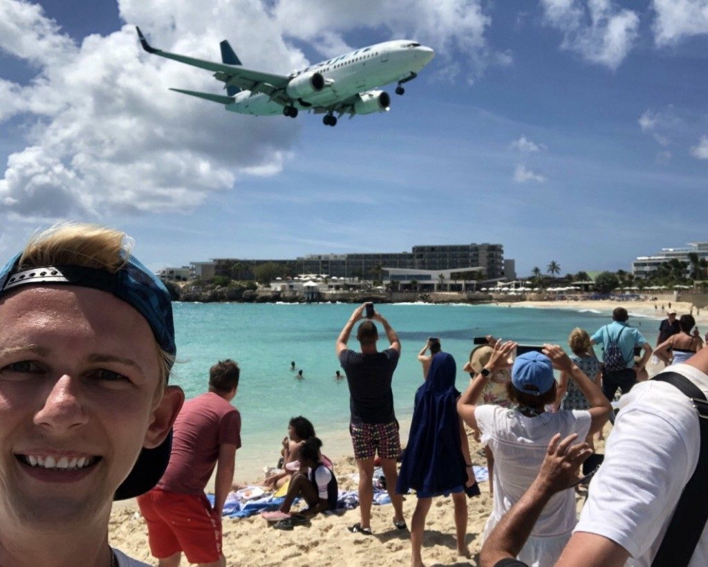 St Maarten Maho Beach SXM Princess Juliana Airport Michal Stolarewicz