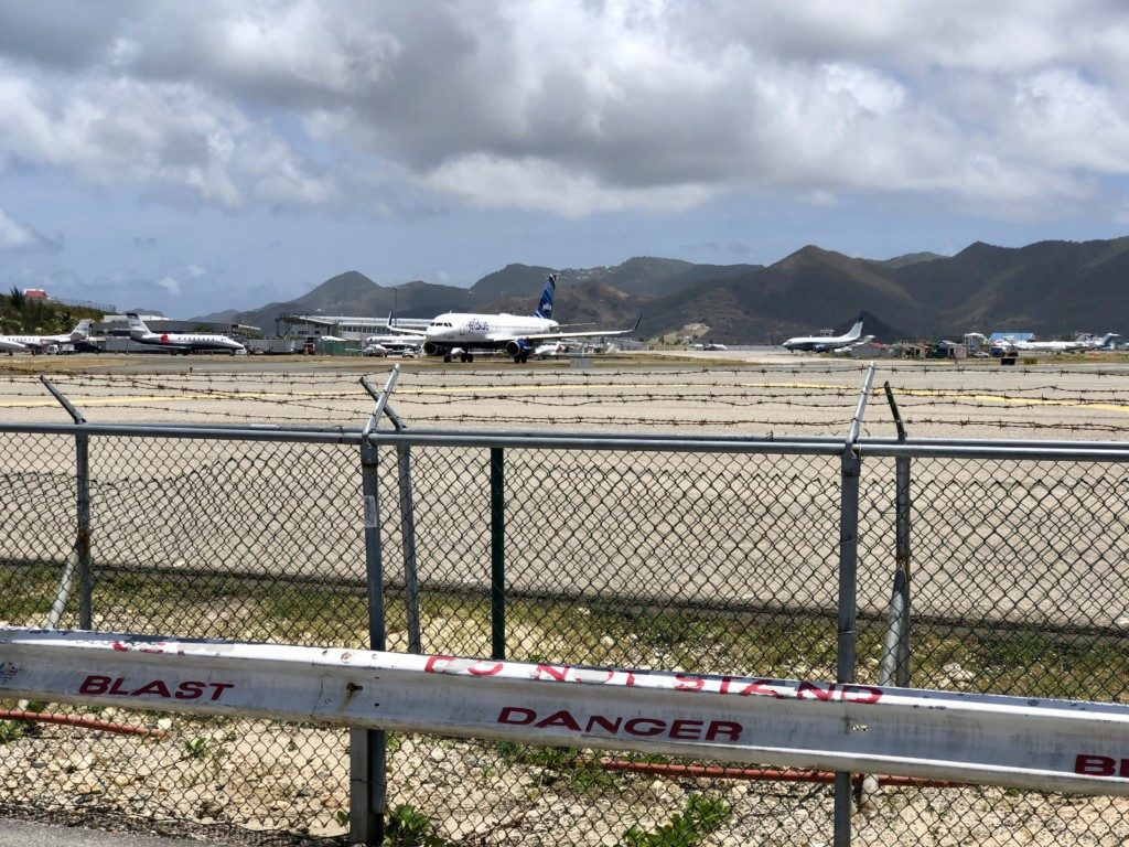 St Maarten Maho Beach SXM Princess Juliana Airport