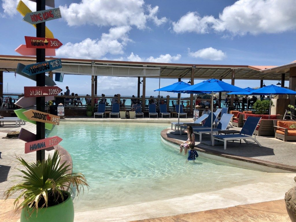 St Maarten Maho Beach Sunset Bar and Grill