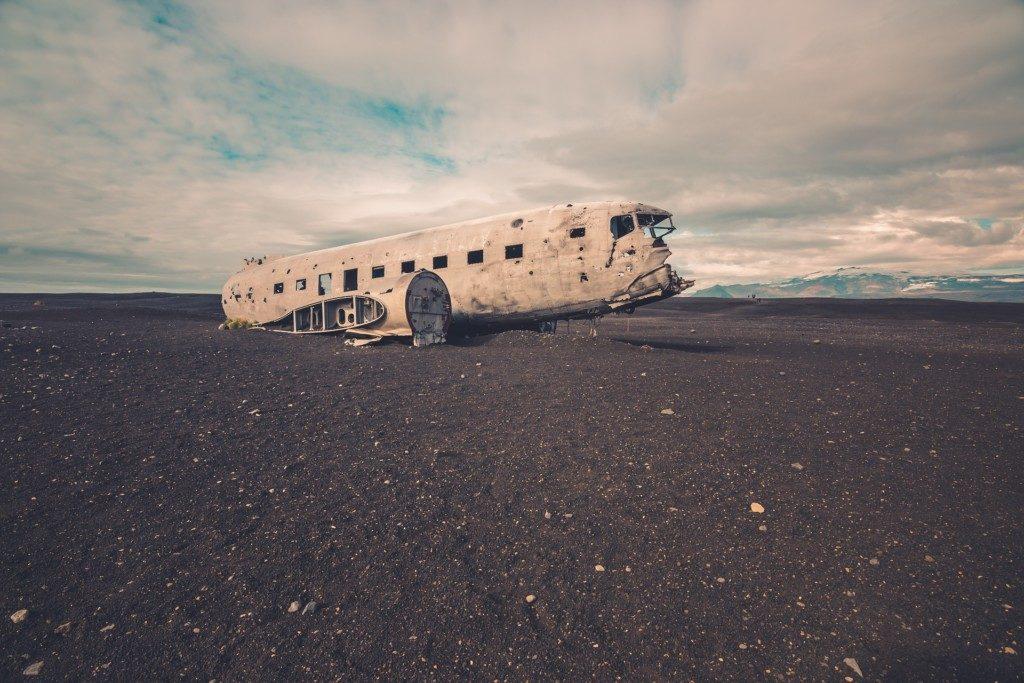 Islandia wrak samolotu Dakota DC-3