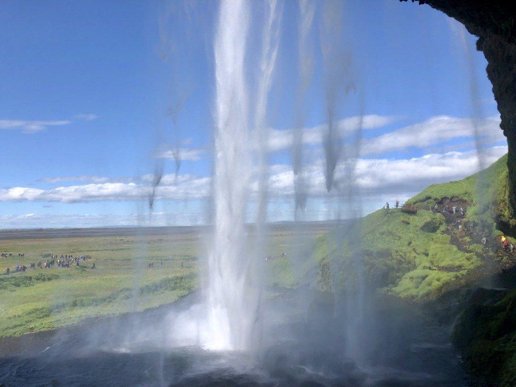Islandia Wodospad Seljalandsfoss