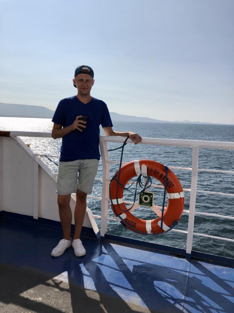 Grecja Agistri wyspa Michal Stolarewicz